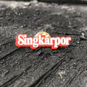 Image of Singkarpor enamel pin