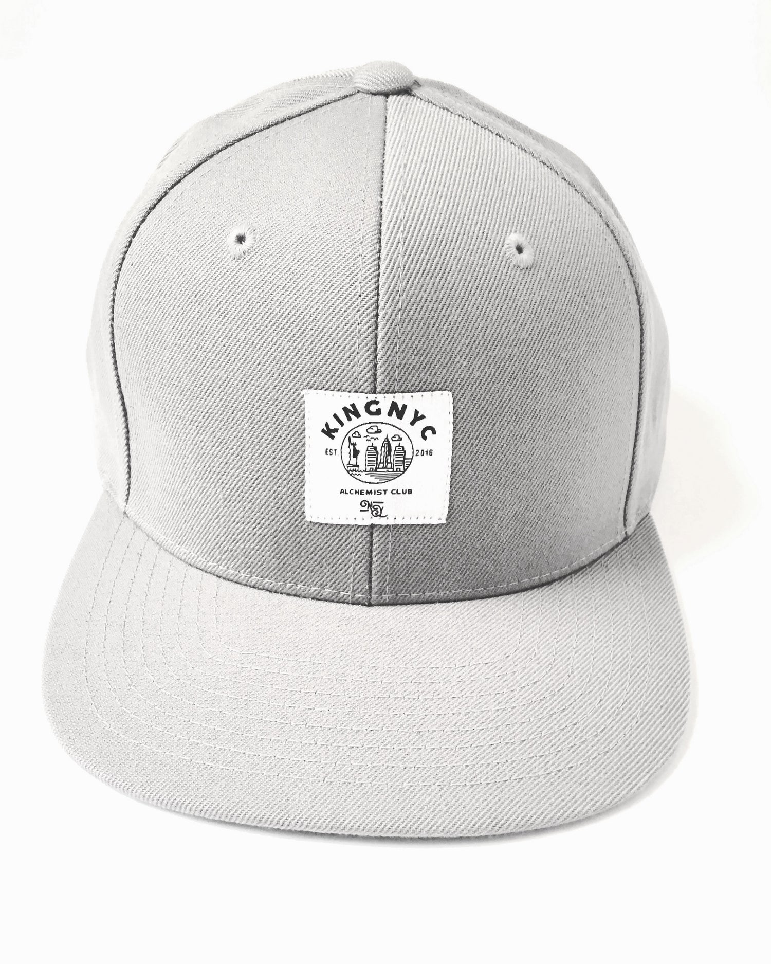 Image of KingNYC Alchemist Club White Label Snapback
