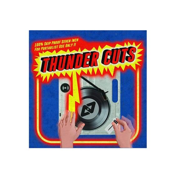 "Image of Thunder Cuts - Aeon Seven (7"" Blue Vinyl)"