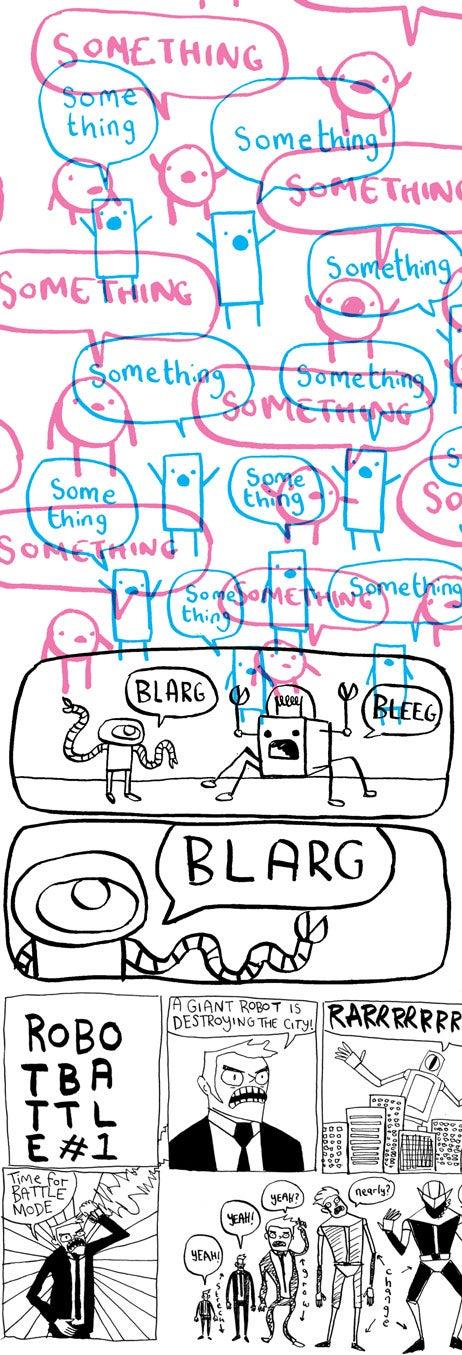 Image of Something - Comic