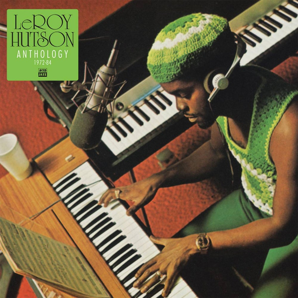 Image of Pre-order Leroy Hutson - Anthology 1972 - 1984 (CD)