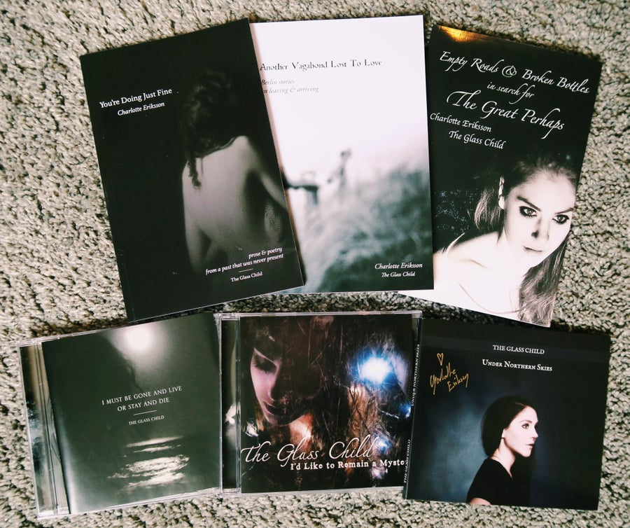 Image of THE GLASS CHILD BUNDLE // All 3 books + all 3 CDs!
