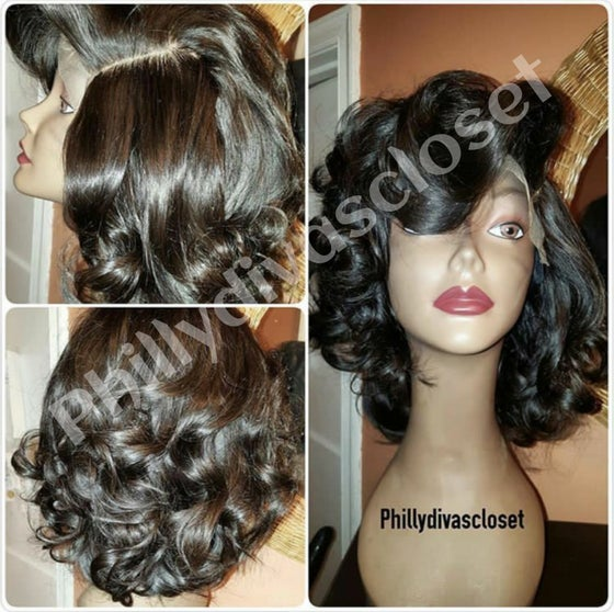"Image of Brazilian Straight 10"" or 12"" Bob"