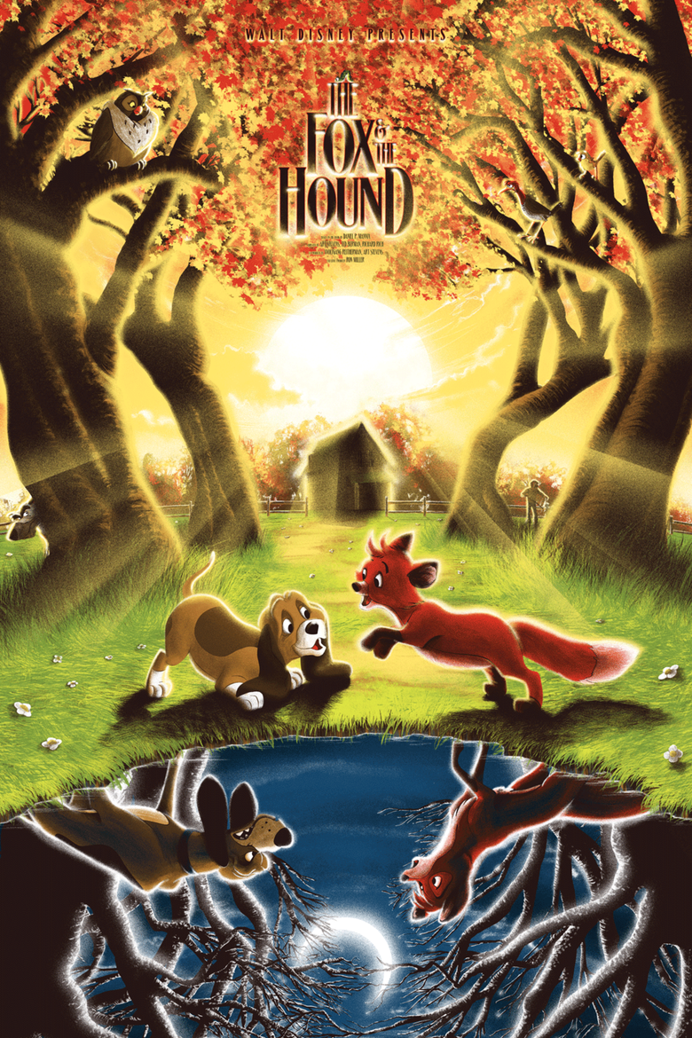 Image of The Fox and the Hound - Artist Proofs