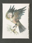 Image of Cynthia Thornton Bird Girl Digital Art Print (Open Edition)