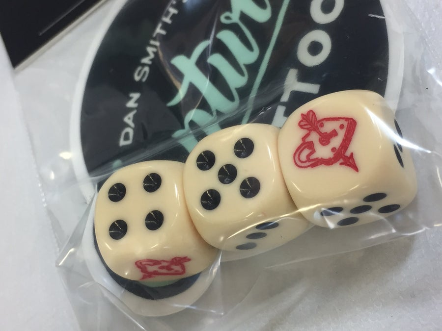 Image of Captured Tattoo Dice Sets