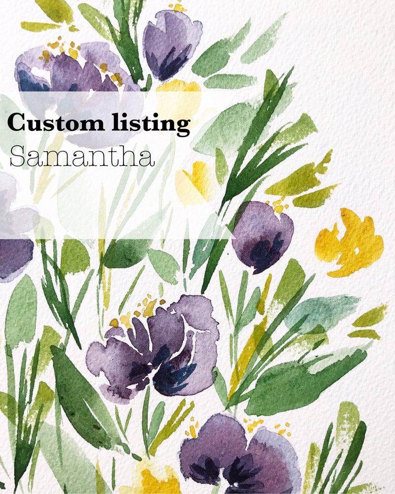 Image of Custom listing - Samantha