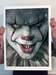 Image of IT- PENNYWISE - 18x24 Edition 50