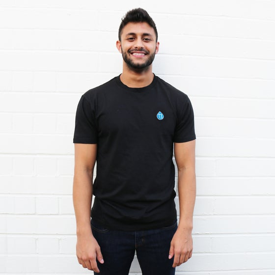 Image of Drops Shirt Black