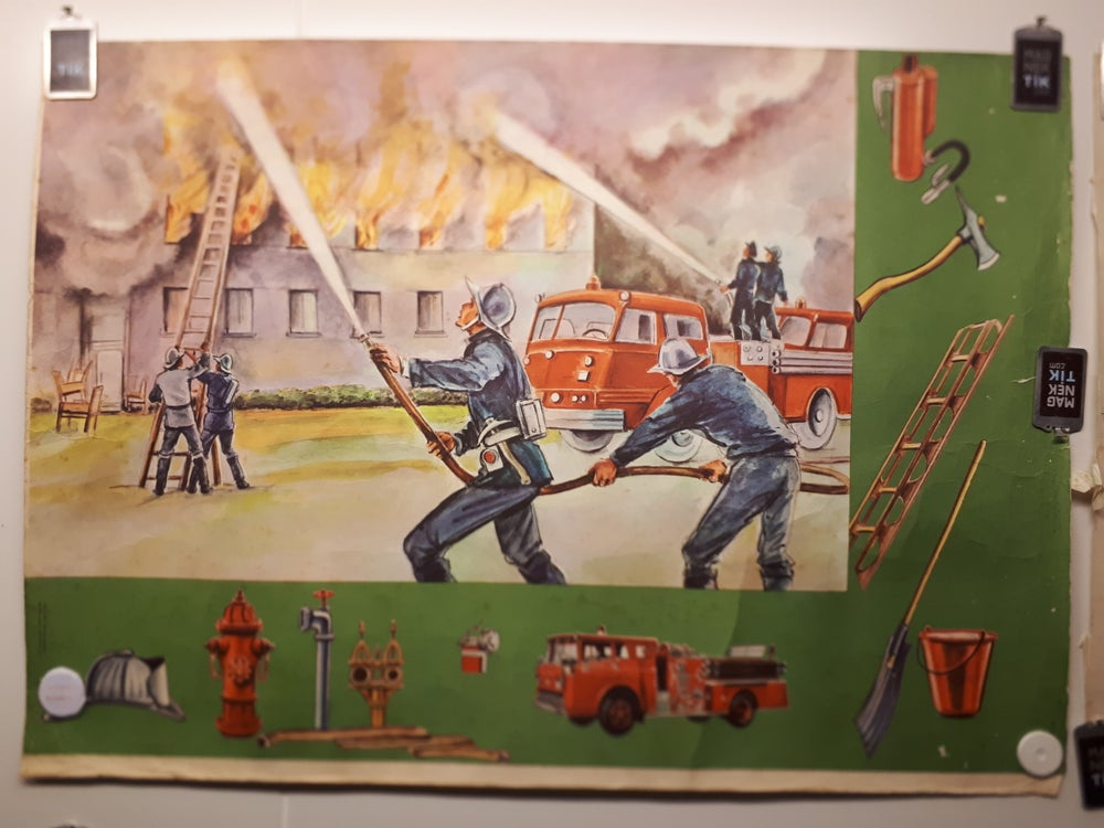 Image of Fire Department Poster