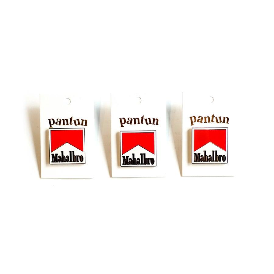 """Image of LANSI x Pantun """"Mahalbro"""" Pin"""