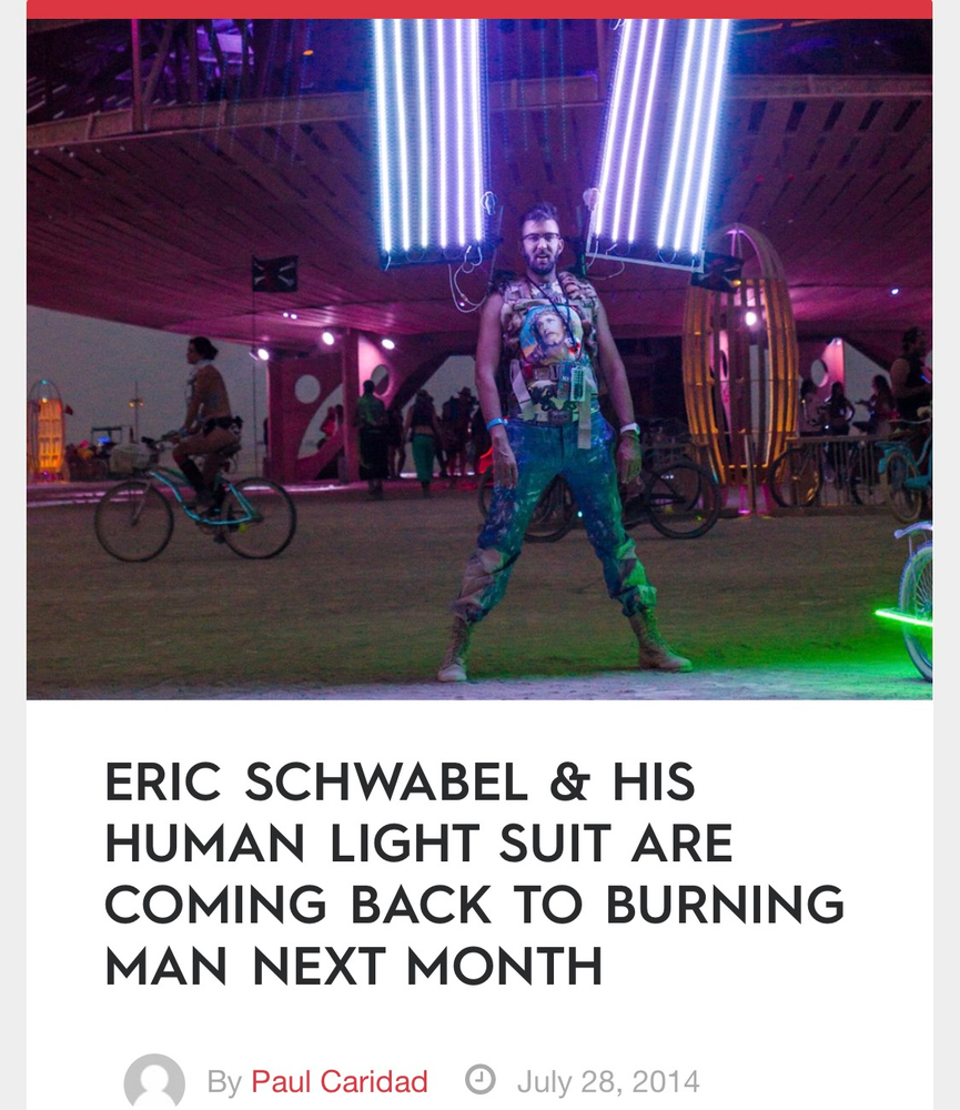 Image of Support the 2017 Human Light Suit