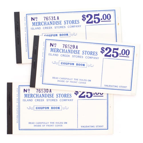 Image of Merchandise Store Ticket Booklet