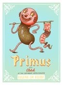 Image of Primus 2017 Silkscreen Poster - Eugene, OR