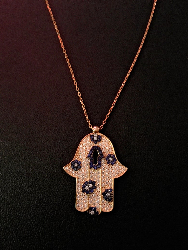 Image of Unlock the Hamsa Necklace