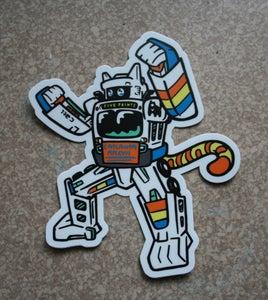 Image of Marta Transformer Sticker