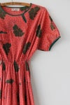 Image of SOLD Leafy Blousey Dress