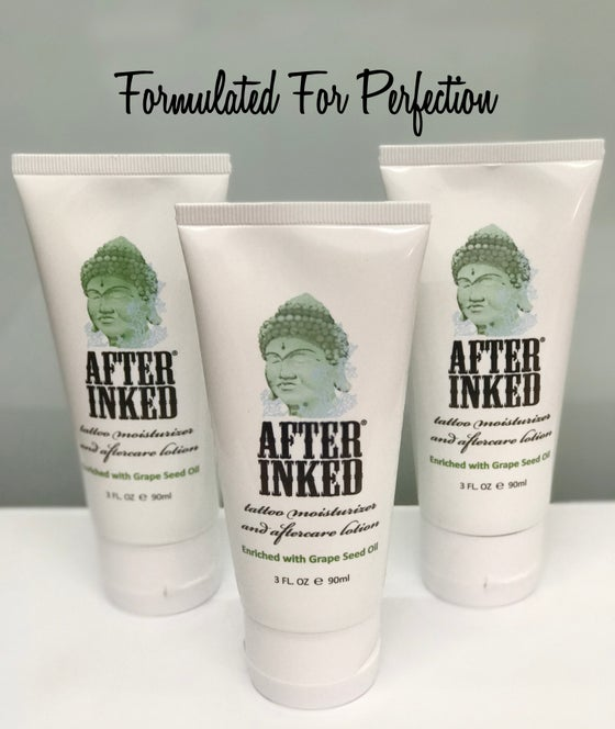 Image of After Inked Tattoo Moisturiser and Aftercare Lotion