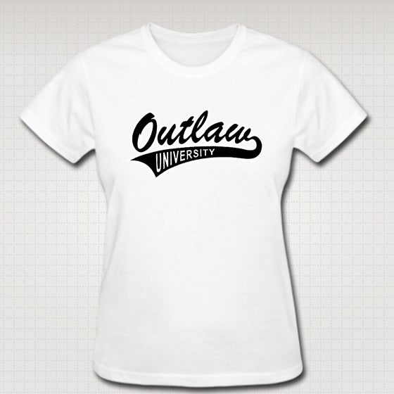 Image of OU Female Baby Tee- Comes in Black, White,Pink,Purple,Red- CLICK HERE TO SEE ALL COLORS