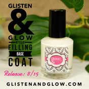 Image of Glisten & Glow Ridge Filling Base Coat (Ridge Relief from uneven nail surfaces)