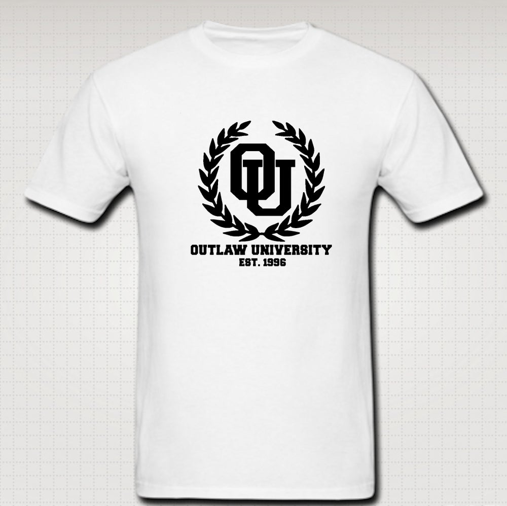 Image of University Tshirt - Comes in Black, White,Grey,Red,Navy Blue - CLICK HERE TO SEE ALL COLORS
