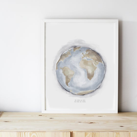 Image of ART PRINT | WORLD
