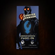 Image of Hellboy/B.P.R.D. Limited Edition Enamel Lobster Johnson pin! - SOLD OUT