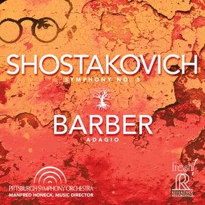 Image of Shostakovich: Symphony No. 5 and Barber's Adagio