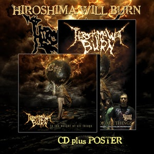 "Image of HIROSHIMA WILL BURN ""To The Weight Of All Things"" CD"