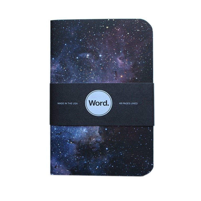 Image of Word. Notebooks - Intergalactic