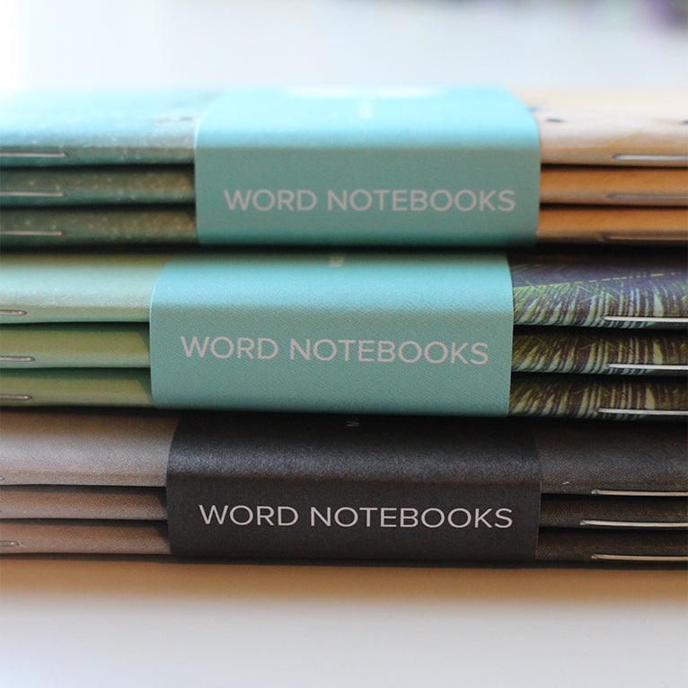 Image of Word. Notebooks - Photo Series