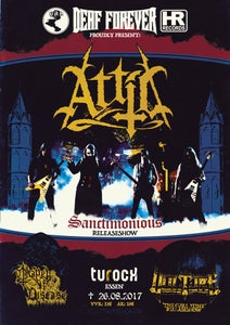 "Image of Poster - ""Sanctimonious"" Release Show"