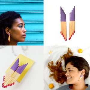Image of Matchstick Earring