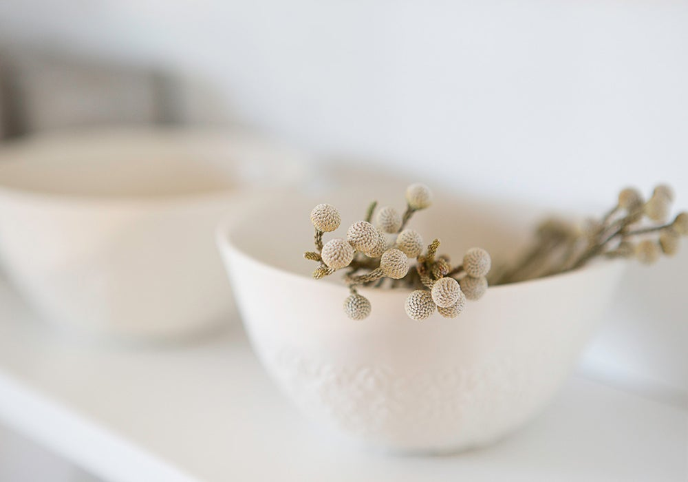 Image of Vintage Lace bowl