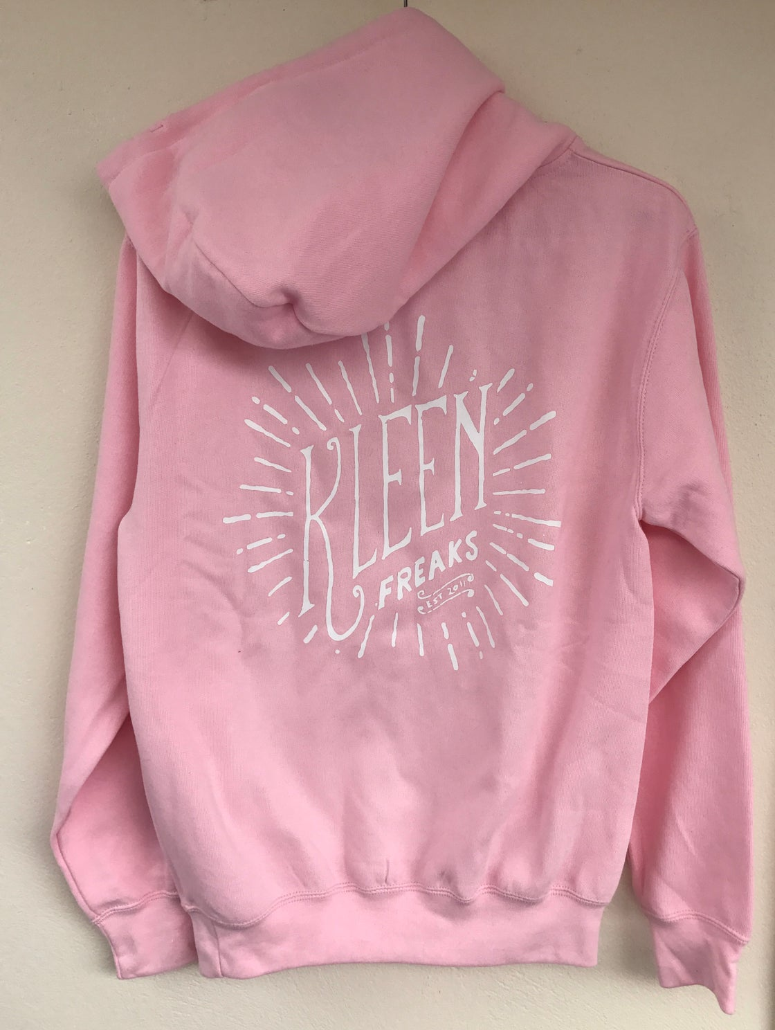 Image of New Pink Retro Hoodie