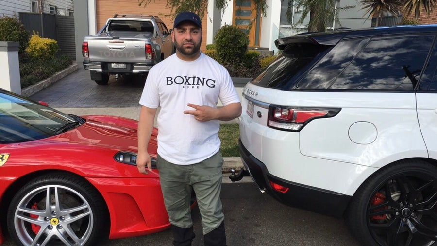 Image of White Men's BoxingHype logo tees