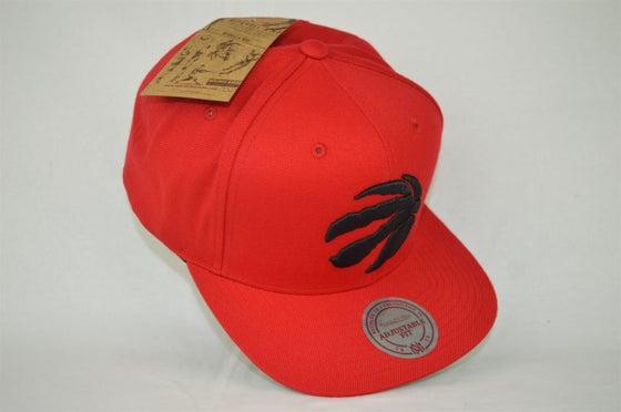 Image of Toronto Raptors Solid 2 Mitchell & Ness Snapback cap