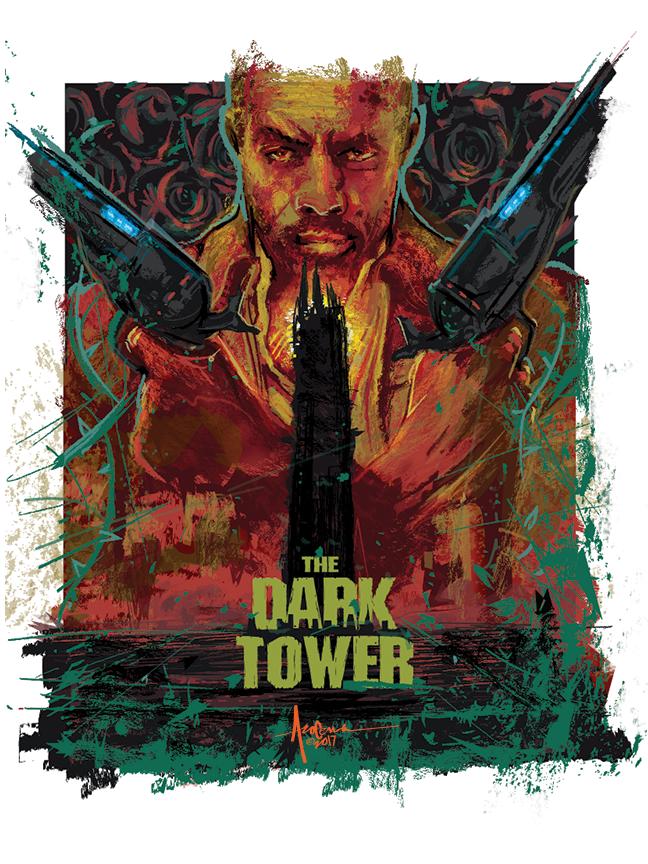 Image of DARK TOWER-2017- 18x24-Edtn 25