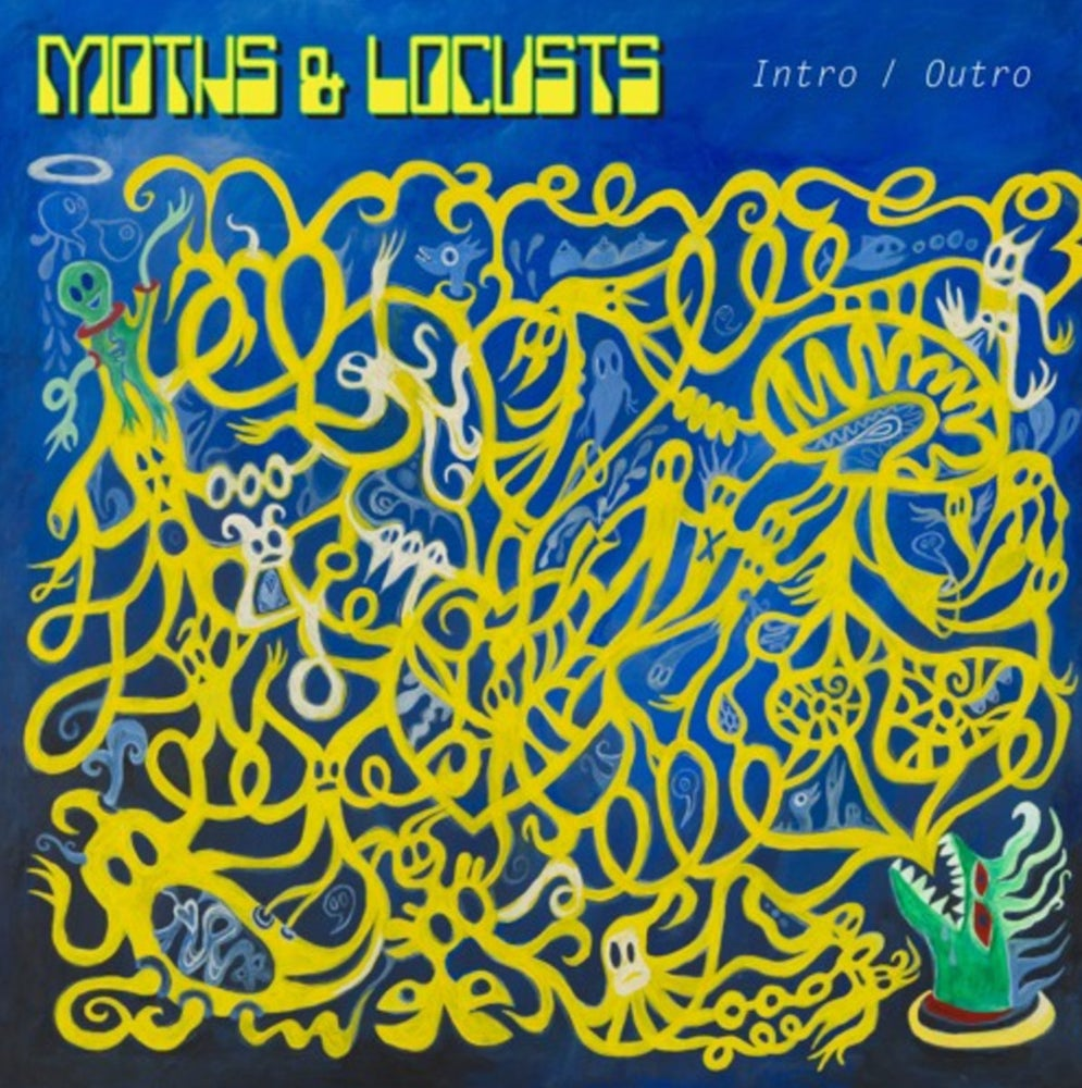 Image of Moths & Locust - Intro / Outro (Highlighter Yellow With Insert.) Cardinal Fuzz / N.A.M