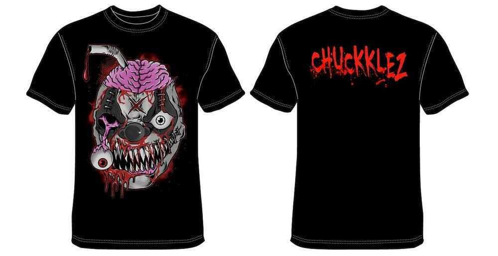 "Image of Chuckklez ""DECAYED HEAD"" T-shirts"