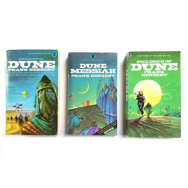 Image of Frank Herbert - The Dune Trilogy