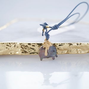Image of Elephant and palmtree bracelet