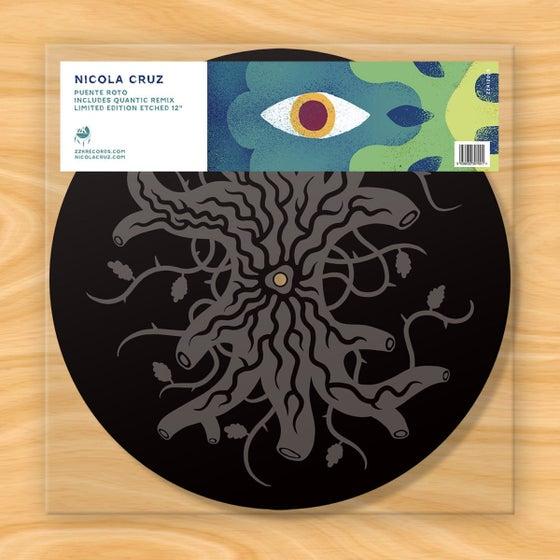 """Image of Nicola Cruz - Puente Roto Limited Edition 12"""" Etched Vinyl"""