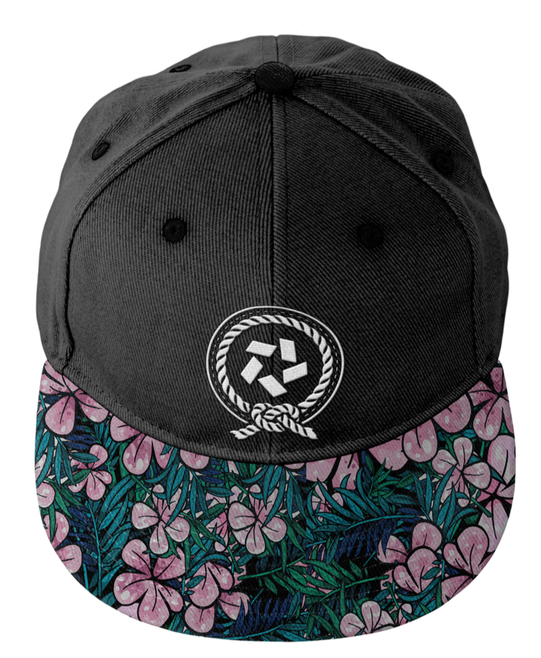 Image of UTOPIA Island Snapback Cap Floral 2017