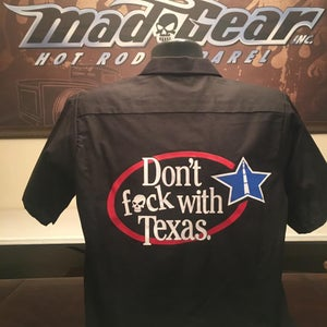 Image of Work Shirts-Don't F With Texas