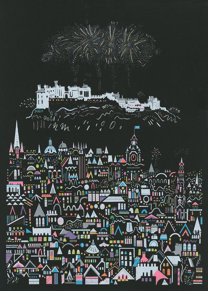 Image of Fireworks Screenprint
