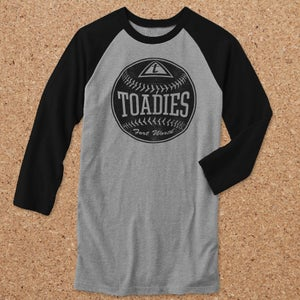 Image of Toadies : Baseball Raglan