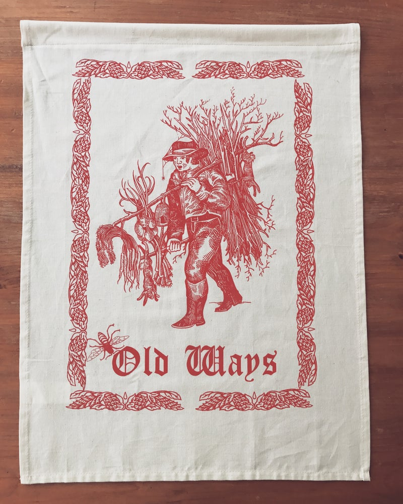 Image of Old ways tea towels