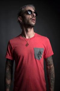 """Image of """"Machete Empire"""" Tshirt red"""