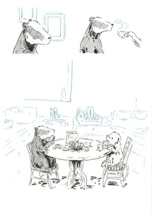 Image of More Badger and Vole artwork
